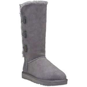 UGG Bailey Button Triplet   Womens   Casual   Shoes   Grey