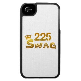 225 Louisiana Swag iPhone 4 Covers