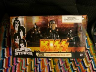 Kiss Super Stars 2009 Big Large Box Box Set Figures