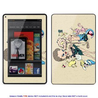 Skin sticker for  Kindle Fire case cover Kfire 128 Electronics