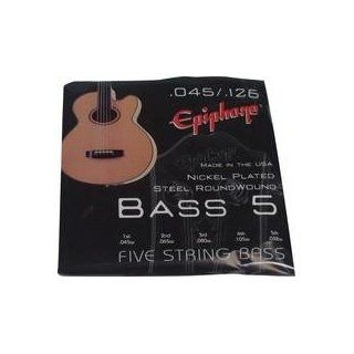 Epiphone 5 string Bass Guitar 45 126 EBE60M5 Musical Instruments