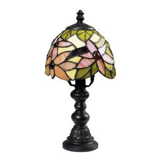 Sterling Industries 126 0010 Tiffany Mini Table Lamp, Pink