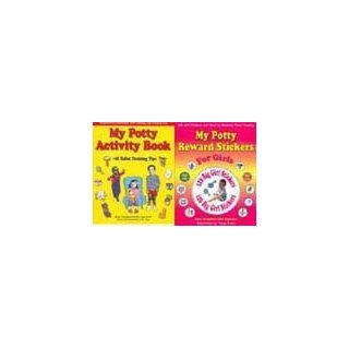 126 Girl Toilet Training Stickers and Chart + Potty