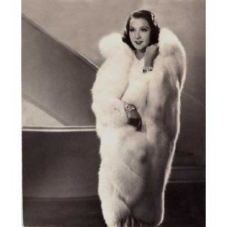 Ethel Merman Posing A Fur Coat 1936, Movie Poster by Hoch