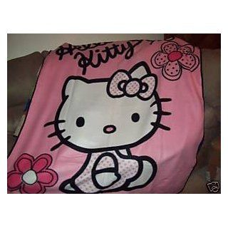 60 (127 cm x 152.4 cm), Hello Kitty colors Pink White black) Baby