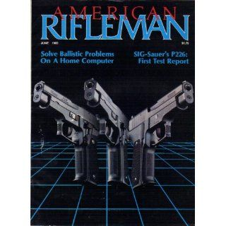 Rifleman Magazine June 1983 Vol 131 No 6 Various Books