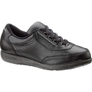 Hush Puppies Classic Walker Womens Black Leather Shoes H57606