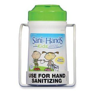 moistened Wipes,Kills 99 Percent Germs,135/Canister