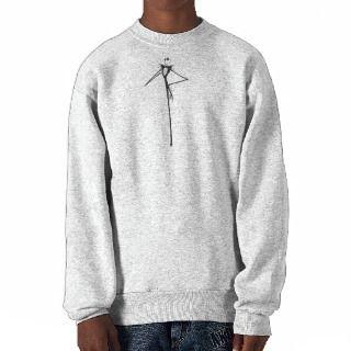 Nightmare Before Christmas Jack Skellington Pull Over Sweatshirts
