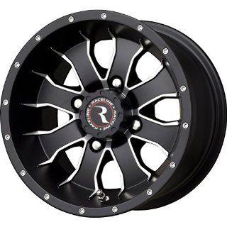 Raceline Mamba Black Wheel with Machined Face Finish (14x7/4x137mm