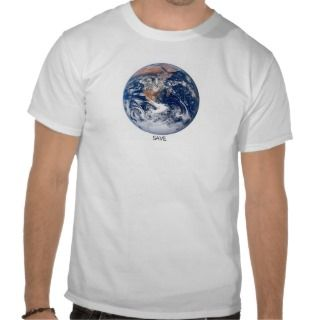 Save Earth T shirt