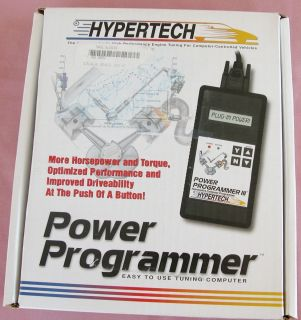 NEW Hypertech Computer Programmer Power Programmer III Cadillac