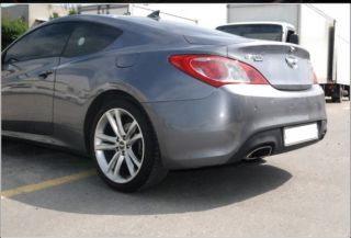 Wheel Cap Emblems for 2008 2014 Hyundai Genesis Coupe