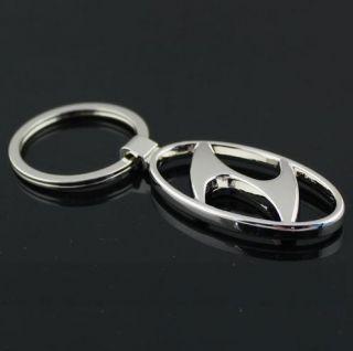 HYUNDAI Logo 3D Metal Keychain for Accent Excel Elantra Getz Lantra