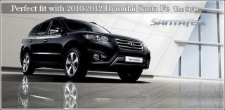 Center Console Armrest Box Black for 10 11 12 Hyundai Santa FE