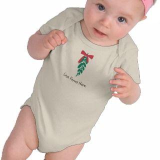 WagsToWishes_Mistletoe Bolo Baby1 Tee Shirt