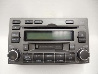 06 07 08 HYUNDAI Infinity Azera Radio Stereo 6 Disc Changer MP3 CD