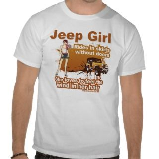 Jeep Girl T Shirts