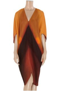 Zero+MariaCornejo Koya printed silk crepe dress   65% Off
