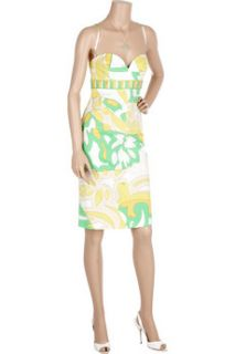 Emilio Pucci Tropical print cotton dress   65% Off