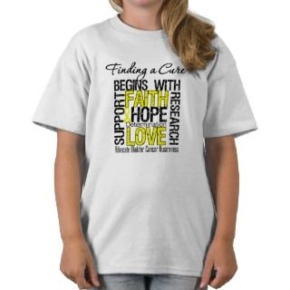 Finding a Cure For Bladder Cancer T Shirts