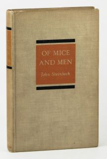 Of Mice and Men ~by JOHN STEINBECK~ 1st/1st Edition ~1st State ~1937
