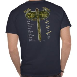 Attila Huns in the Sun Tour (Mens Light Front) Shirts