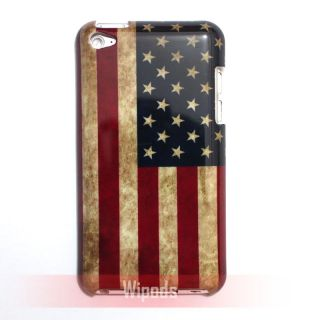 US United States USA National Flag Case Cover for iPod Touch 4 4th