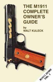 M1911 Gun Complete Owners Guide Assemble Clean Repair