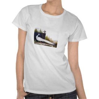 White Peacock Tee Shirts