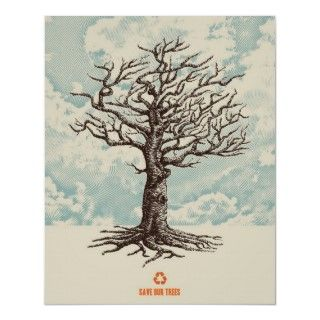 Save our Trees Poster