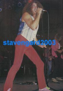 Jon Bon Jovi Ian Gillan Poster Mag Argentina 1992