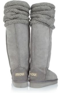 Mou Bandeau Cuff shearling boots   59% Off