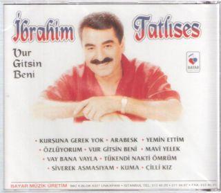 Ibrahim Tatlises VUR Gitsin Beni Arabesk Turkish CD