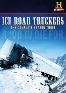 Ice Road Truckers Season 3 New 4 DVD Set