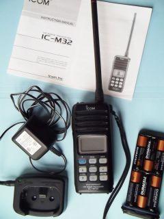 Icom IC M32 VHF Marine Handheld Radio Transceiver