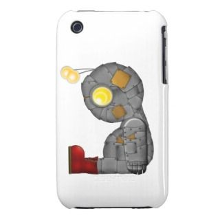Sad, Lonely Robot Case Mate iPhone 3 Case