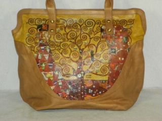 New Icon Brand Gustav Klimt Pop Art Large Tote Shopper Satchel Purse