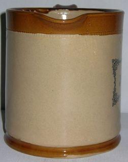 Vintage Moira Iced Tea Crock Stoneware 1 2 Gal Pitcher