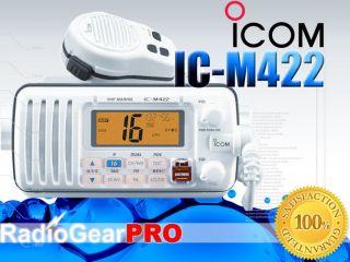 Icom M422 Marine VHF Radio White IC M422 DSC Mic