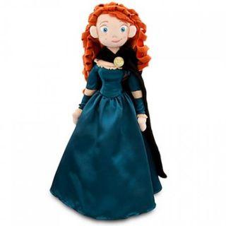 New  Brave Plush Merida Doll Angus Horse Set