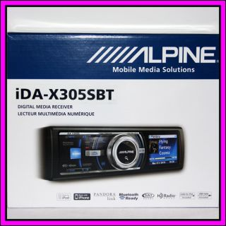 X305SBT Bluetooth USB MP3 IPOD Car Stereo Player Receiver iDA X305S