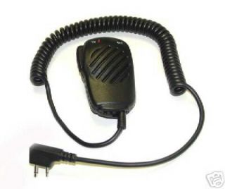 Compact Speaker Microphone for Icom Portable Radios