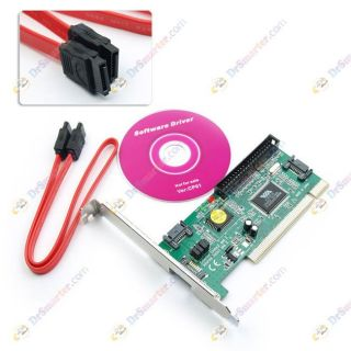 New IDE PCI SATA Serial ATA Card PC Via VT6421A 6421