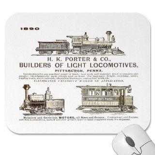 Porter Fireless Steam Locomotive 1943 Print