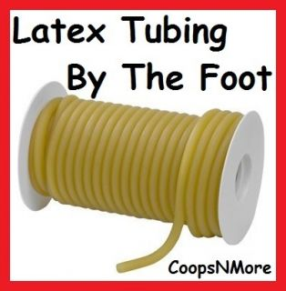 Foot★natural Rubber Latex TUBING★3 8ODX1 4IDX1 16 Slingshot