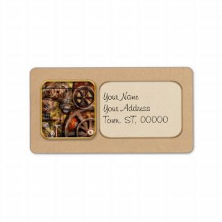 Machine Labels, Machine Address Labels, Return Address Labels