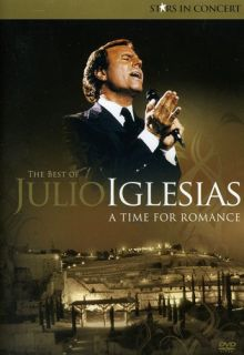Julio Iglesias Stars in Concert A Time for Romance New DVD