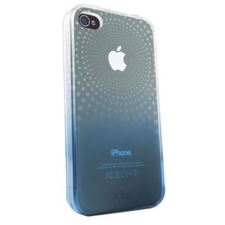 iFrogz Soft Gloss Phase Gel Case iPhone 4 Clear Blue