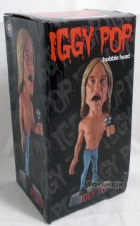 Drastic Plastic Iggy Pop Bobble Head Figure 001383